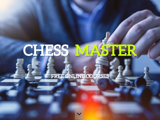 chessmaster - responsive website template built with TOWeb, the responsive website creation software