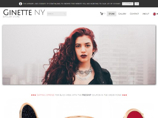 ginette - responsive website template built with TOWeb, the responsive website creation software