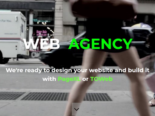 webagency - responsive website template built with TOWeb, the responsive website creation software