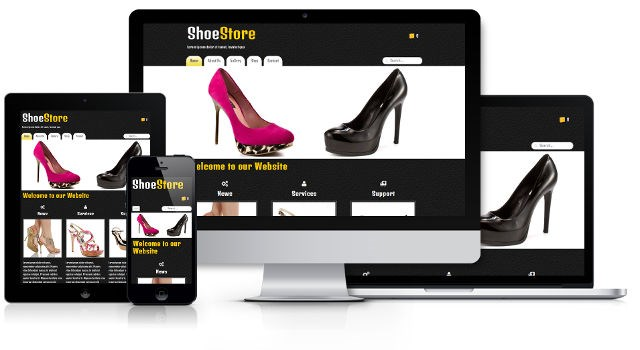 Responsive website and online store creation software - TOWeb