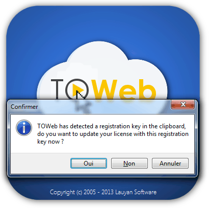 toweb version 3